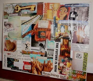 Visioning Collage / 5 Years Ago