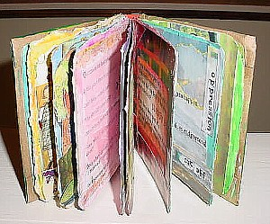 Leadership Mini Altered Book