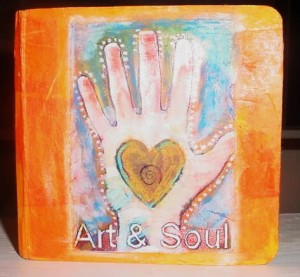 Art and Soul Altered Book