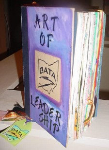 BATA BOD Altered Book- Art of Leadership