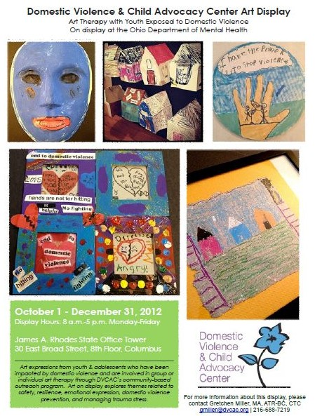 Ohio Department Of Mental Health Art Display Youth Exposed To