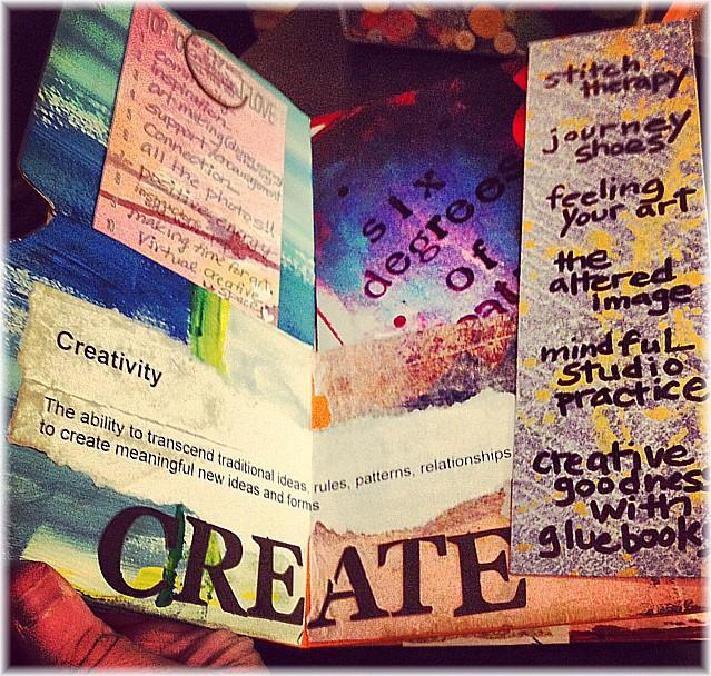 6 Degrees of Creativity Gluebook