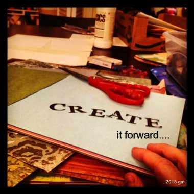 Create It Forward | Creativity in Motion