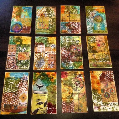 Spring Forward Mailing Art Exchange