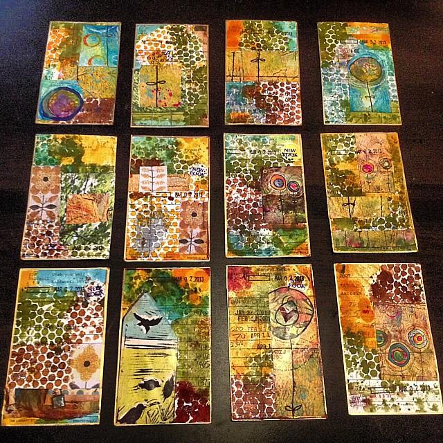 Spring Forward Mailing Art Exchange