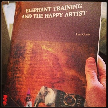 ElephantTrainingHappyArtist