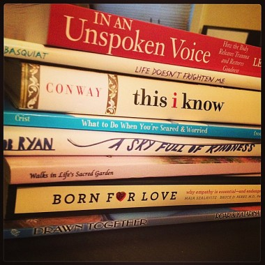 Spine Poetry- National Poetry Month
