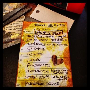 Top 10 Stuff To Glue- Glue It Tuesday