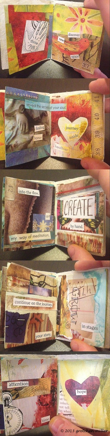 Inside These Pages: Miniature Book with Big Reminders | creativity in motion