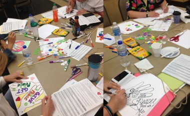 Peace Flags: Creating Peacemakers through Creativity | TLC Assembly