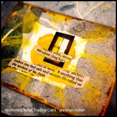 Self-Care through Creative Practice & Intention: Anchoring   creativity in motion