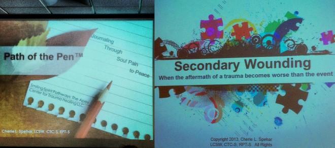 2013 TLC Assembly Workshops w/ Cherie Spehar
