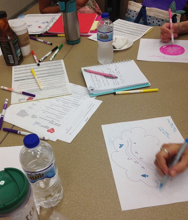 What Does Peace Feel, Taste, Sound, Look, Smell Like.....? | Creating Peacemakers through Creativity Workshop