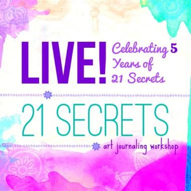 Art Journaling Is... >>> 21 SECRETS LIVE! Giveaway via creativity in motion