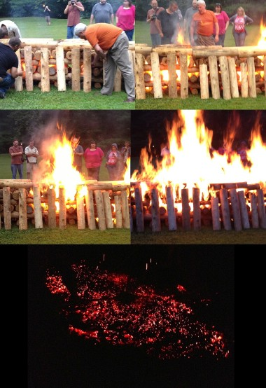 Firewalk Preparation | creativity in motion