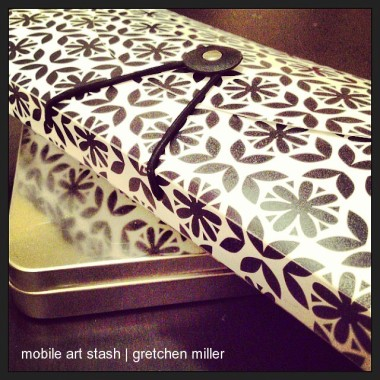 Creating on the Go: My Mobile Art Stash | creativity in motion