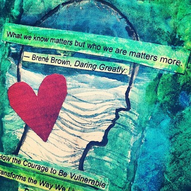 Self Care through Creative Practice and Intention: Vulnerability | creativity in motion