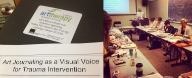 Art Journaling as a Visual Voice for Trauma Intervention | IATA Conference