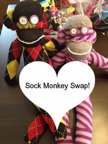 Call for Sock Monkeys: Sock Monkey Swap 2013