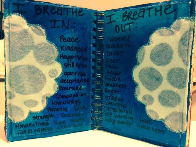 Rachel Mims Art Journal Pages (2011)