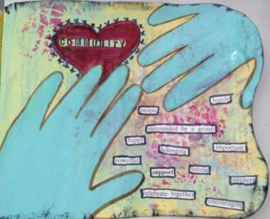 Artful Hands & Hearts: Honoring Community   Dale Anne Potter