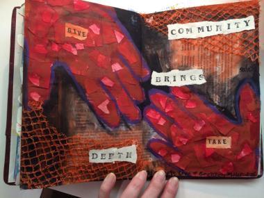 Artful Hands & Hearts: Honoring Community   Amanda Knapp