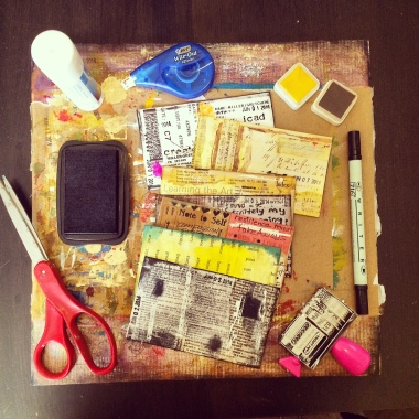 Daisy Yellow's ICAD Challenge: An Exciting, New 3x5 Adventure Begins | creativity in motion