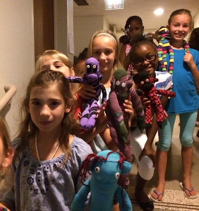 Summer Camp Sock Monkeys & Service | creativity in motion