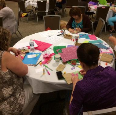 Inspiration from the 2014 TLC Childhood Trauma Practitioner's Assembly | creativity in motion