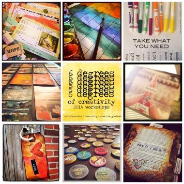 6 Degrees of Creativity Workshops- Sale!