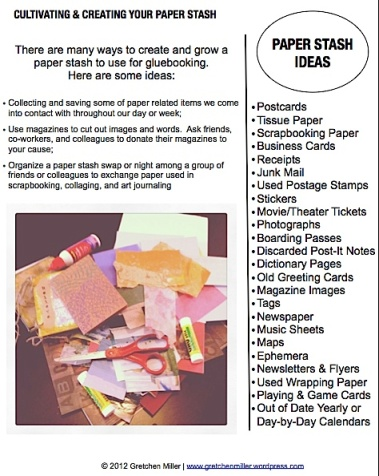 Paper Stash Show & Tell | creativity in motion