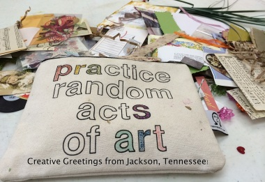 July Travel Update: Random Acts of Art Adventure | 6 Degrees of Creativity