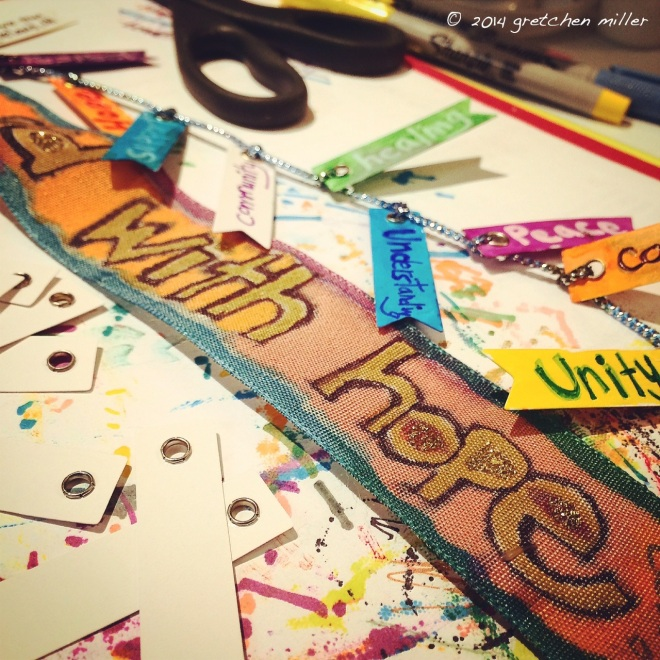 Ribbons of Hope: a Collaborative Community Art Project for Ferguson, Missouri | creativity in motion
