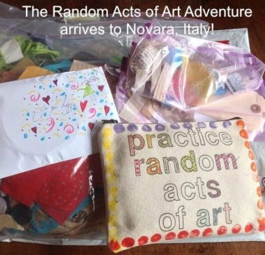 Travel Update: Random Acts of Art Adventure Arrives to Italy! | 6 Degrees of Creativity