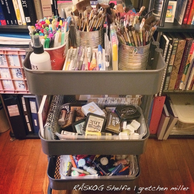 Re-Organzing My Creative Space & Repurposing My Dried Up Marker Stash | creativity in motion
