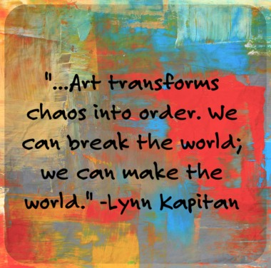 Destruction & Transformation in Art & Therapy: Re-Framing, Re-Forming, Re-Claiming | creativity in motion