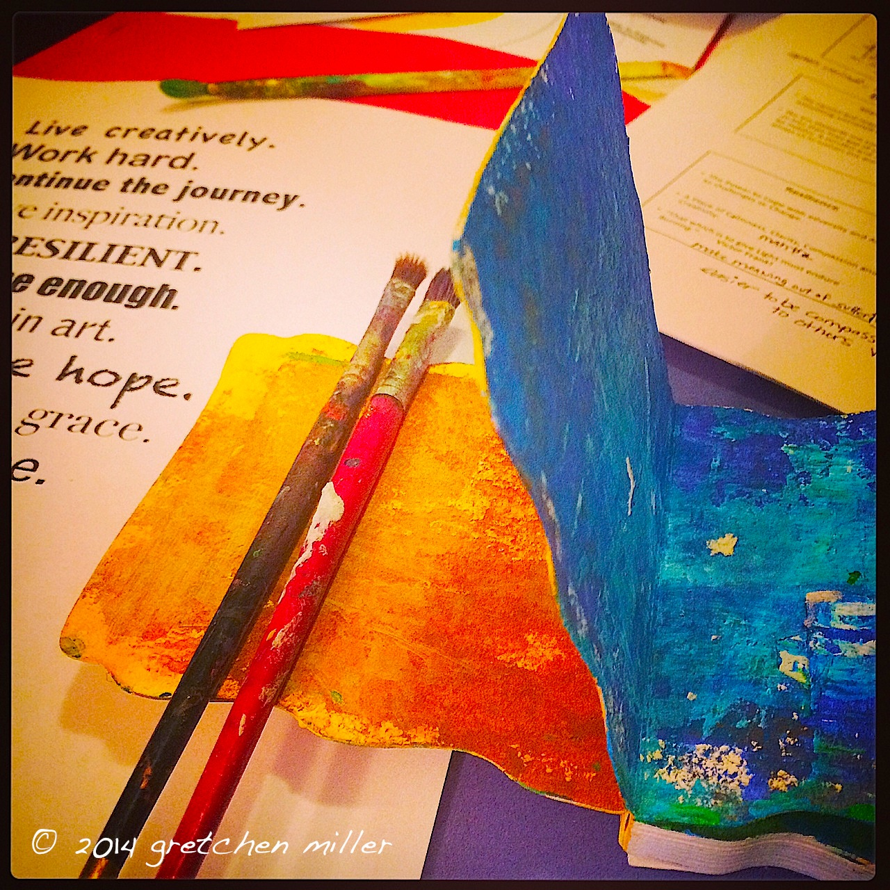 Values, Virtues & Vision: Creative Exploration into Covenant Caregiving Continues   creativity in motion
