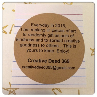 Creative Deed 365 | Creativity in Motion