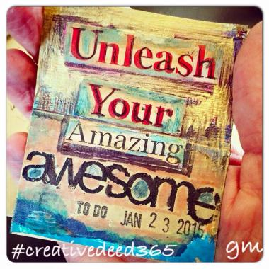 Creative Deed 365: January Offerings | creativity in motion