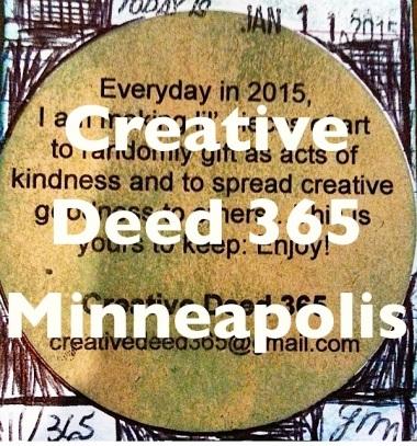 Creative Deed 365 Minneapolis | creativity in motion