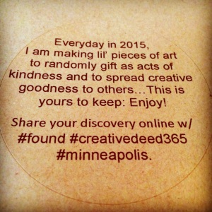 Creative Deed 365: July Offerings | creativity in motion