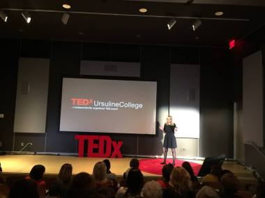 Cultivating Creativity, Connection, & Community- TEDx Ursuline College | creativity in motion