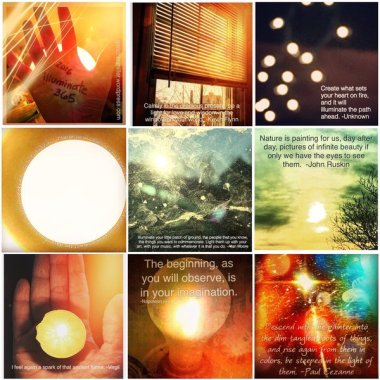My Daily Treasure Hunt for Illumination: Illuminate 365 | creativity in motion