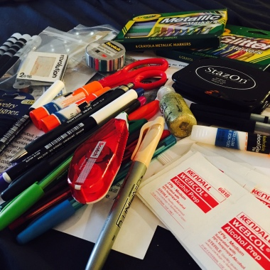 Have Art Supplies: Will Travel | creativity in motion