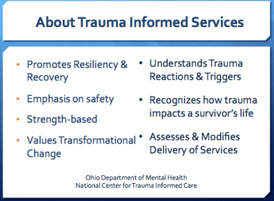 About Trauma Informed Care | creativity in motion